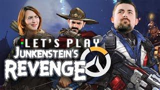 HOLD THE DOOR! - Overwatch Junkenstein's Revenge Let's Play