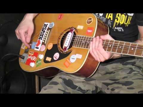 Обзор и установка звукоснимателя для акустической гитары. Aliexpress
