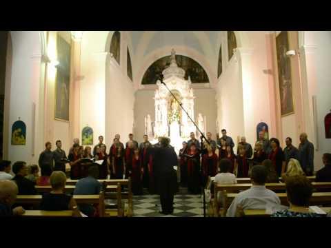 Mixed Choir of Žilina - Christe adoramus te (C. Monteverdi)