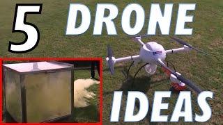 5 Amazing Drone Use Ideas