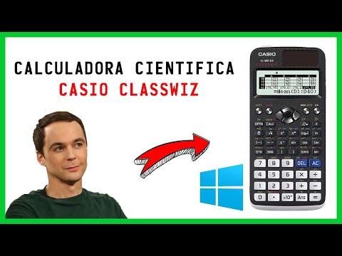 Descargar CALCULADORA CIENTIFICA para PC ✅   CASIO CLASSWIZ 2021