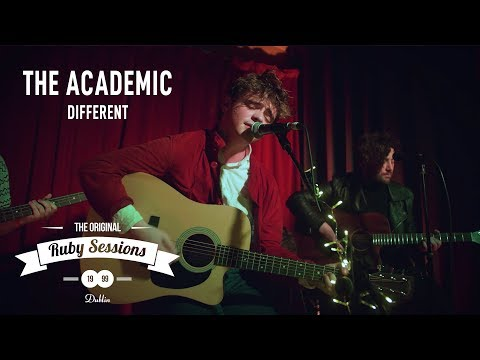 The Academic  Different  at The Ruby Sessions