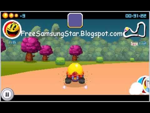 PAC-MAN Kart Rally 400x240 Java Touchscreen