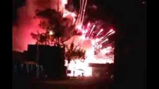 Pirotecnia explota en el mercado 23 cancun hoy 01-enero-2014