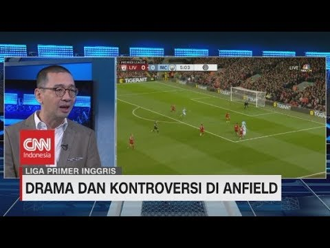 Drama Dan Kontroversi Saat Liverpool Bungkam Man City