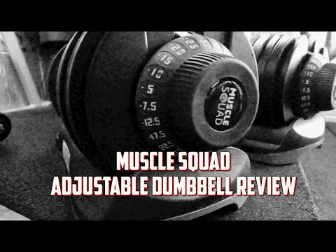 Muscle Squad Adjustable Dumbbells Review