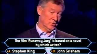 """Sir Alex Ferguson on """"Who Wants to be a Millionaire?"""""""