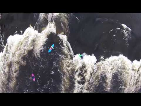 Watch Kayakers On The Black River In Watertown NY