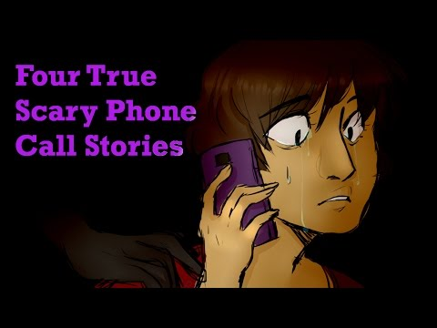 Four True Scary Phone Call Stories Collaboration with Blue Spooky