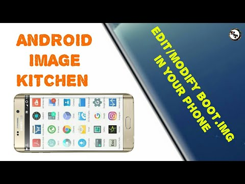 How to edit/modify boot img of any Roms without pc  |AIK|Image  kitchen|SAMSTECH|