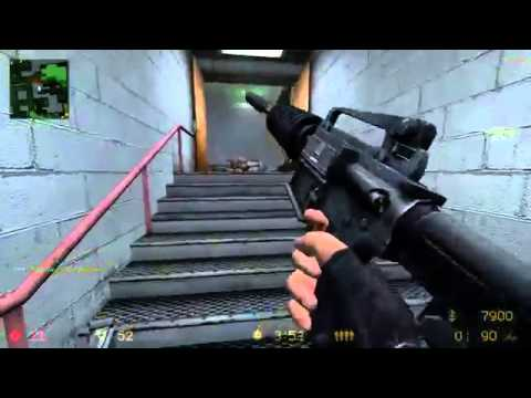 Counter Strike Source  Best Player In The World Vs  20 EXPERT Bots