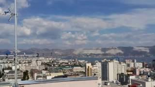 Захватывающий вид с крыши 20ти этажного дома. г. Новороссийск с высоты птичьего полета.(Какой же прекрасный наш город! РПК