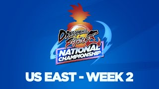 Dragon Ball FighterZ National Championship US East Week 2