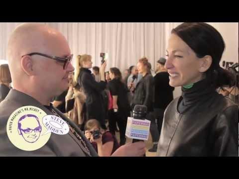 Cynthia Rowley * Crashin' Fashion Week 2 * Mr. Mickey interviews designer Cynthia Rowley