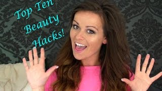 Top 10 Beauty Hacks!!! Tips and Tricks Thumbnail