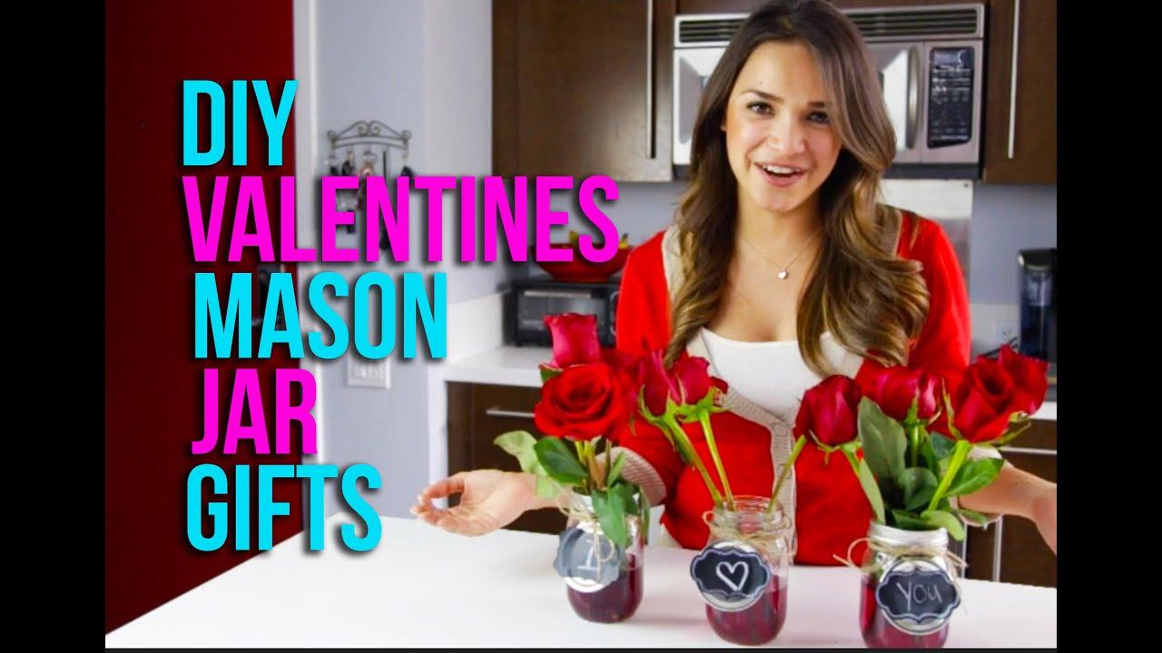 DIY Chalkboard Mason Jar Vases For Valentines DayYouTube