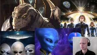 The Federation of light and why aliens are sampling our DNA