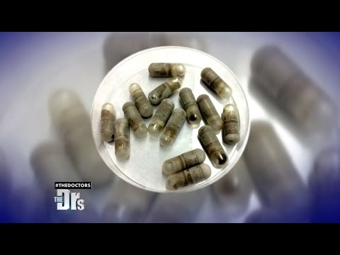 Freeze-Dried Poop Pills to Lose Weight?