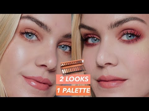 Trying Out the NEW Urban Decay NAKED HEAT Palette🔥 TWO LOOKS!   Mariah Leonard