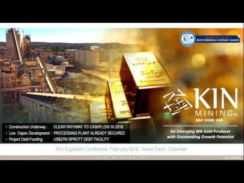 Kin Mining RIU Explorers Conference Presentation