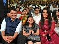 Amruta Fadnavis performing at Umang-the police welfare concert