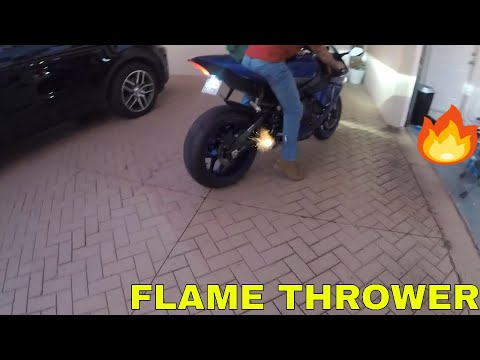 download 2018 R1 EXHAUST INSTALL + SHOOTING FLAMES