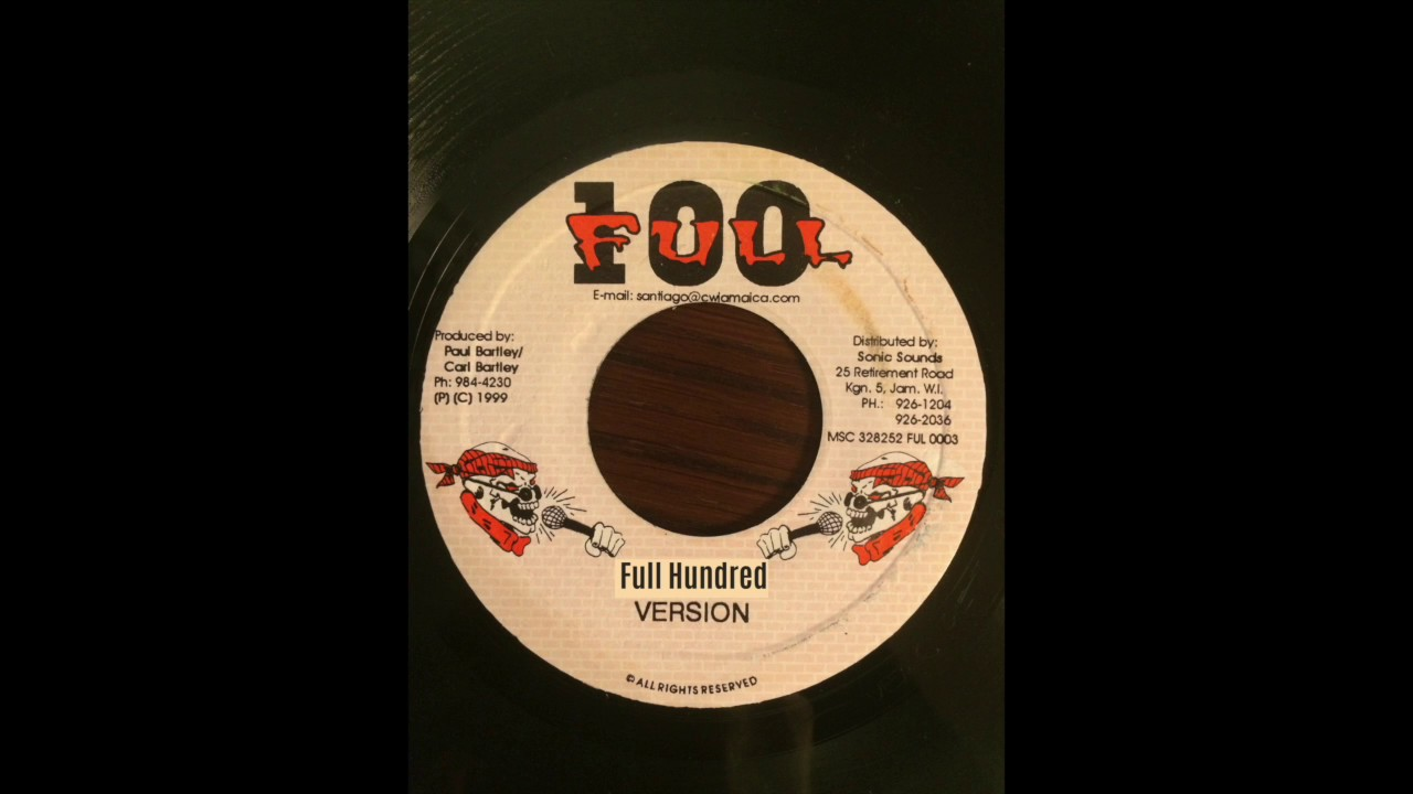Full Hundred Riddim Mix (Full 100, 1999)