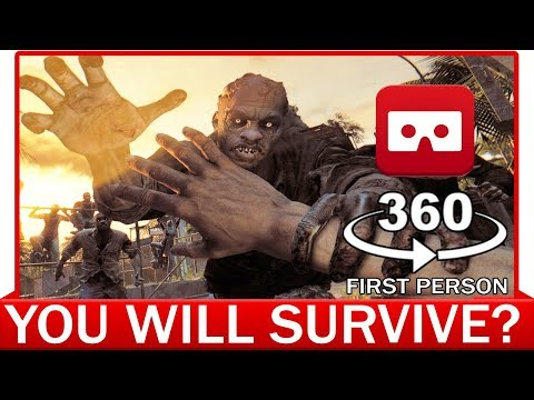 360° VR VIDEO - Zombie Apocalypse In First Person | POV | Resident Evil 7 | Survival Horror
