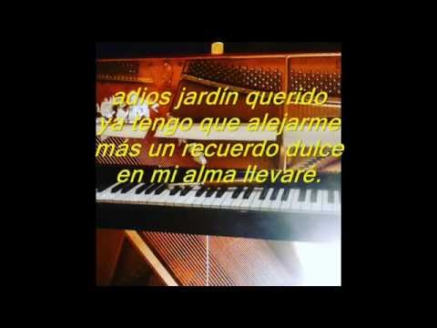 Cancion infantil de despedida adios jardin querido pista for Cancion infantil hola jardin