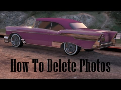 GTA 5 | How To Delete Snapmatic/Social Club Pictures |1.17