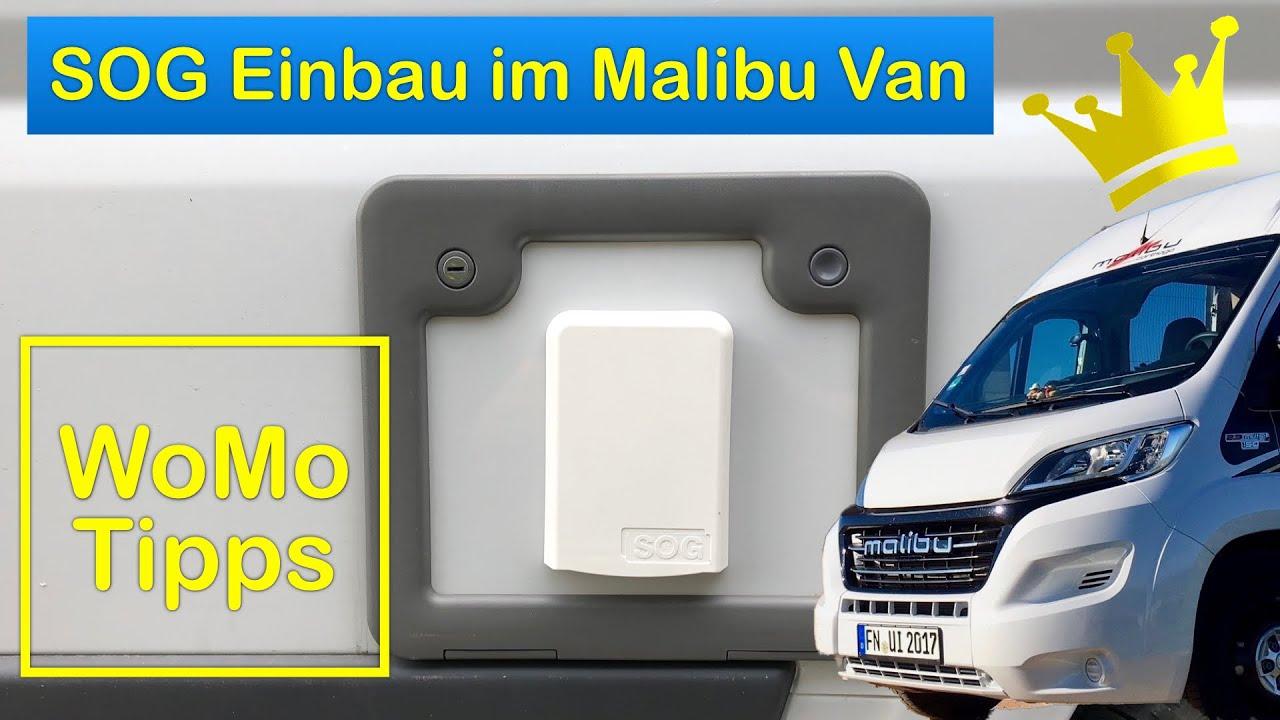 SOG Toilettenentlüftung: Ausführlicher Einbau im Kastenwagen (Malibu Van)