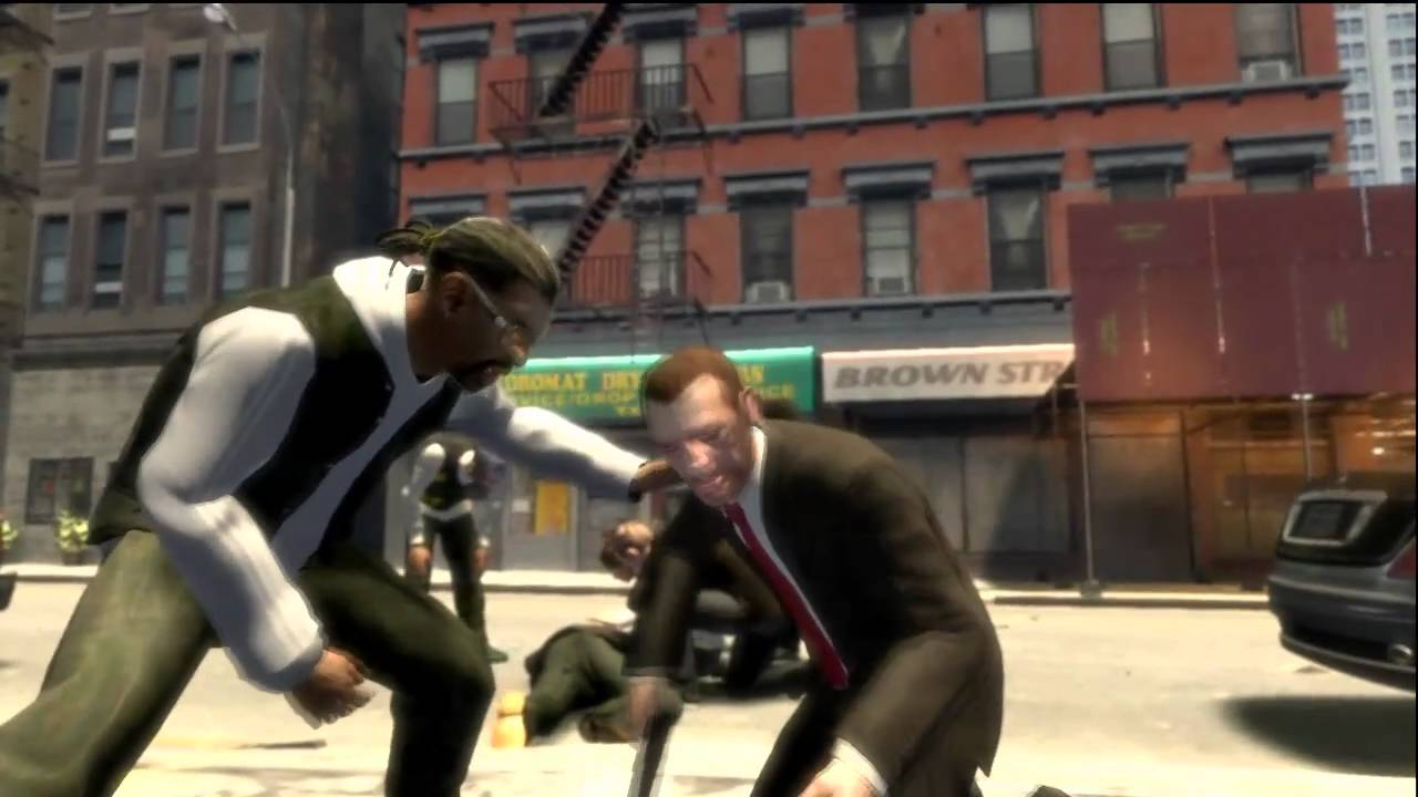 gta iv how to get money from atm