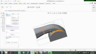 Vẽ nắp máy bơm Creo Parametric