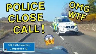 UK Dash Cameras - Compilation 19 - 2019 Bad Drivers, Crashes + Close Calls
