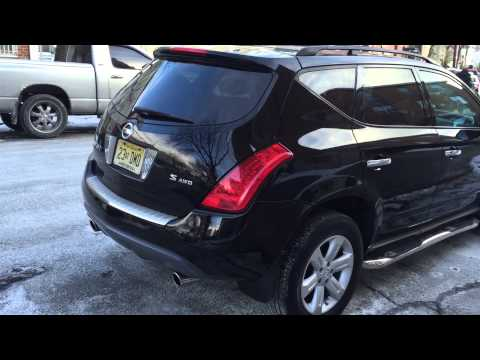 2007 nissan murano s awd part 1 youtube. Black Bedroom Furniture Sets. Home Design Ideas
