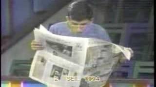 Sinverguenza 1994 Canal 9 Con Christian Torsen, Tatiana Astengo y Jorge Espinoza