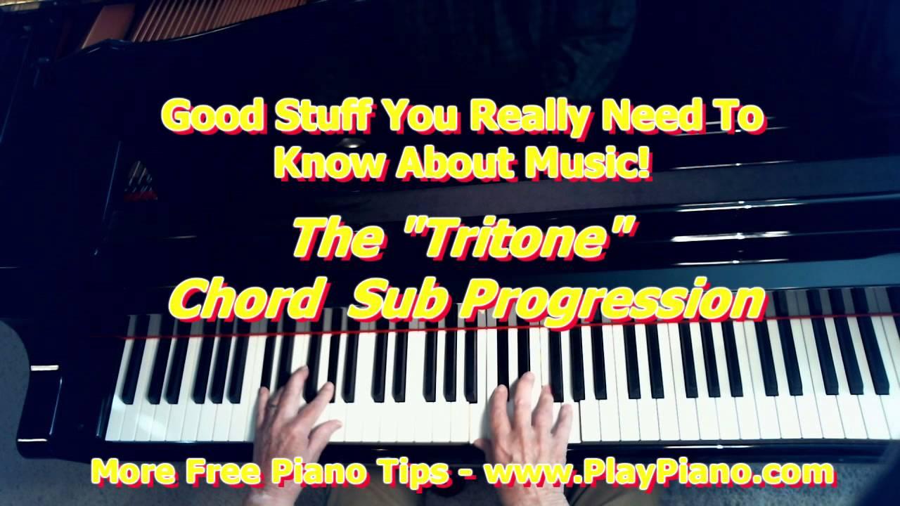 The tritone chord sub progression youtube hexwebz Images