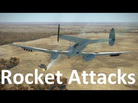 Rocket attacks - il2 bos