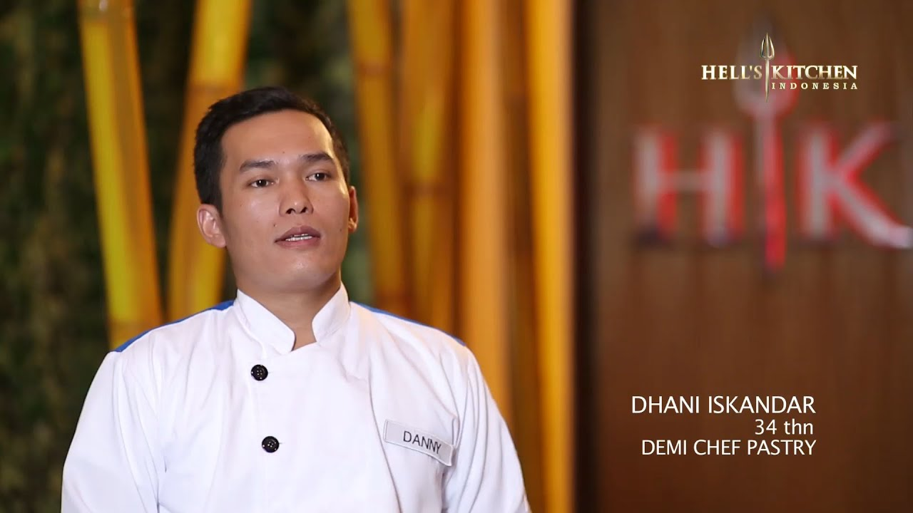 danny - contestant profile - hell's kitchen indonesia - youtube