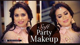 Best Makeup Tutorials 2018 | SOFT Party Makeup Tutorial | Step By Step RECEPTION Makeup Tutorials