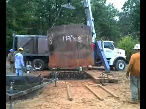 Mammoth Constructors Pulling Casing in Hurt, VA.
