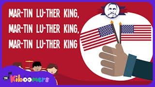 Martin Luther King Song | Song Lyrics Video for Kids | The Kiboomers