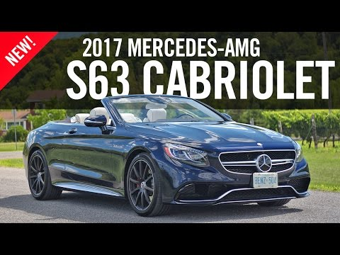 2017 Mercedes=AMG S63 4MATIC Cabriolet Review