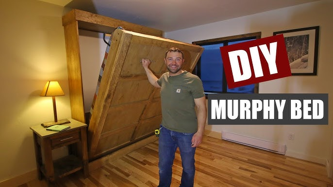 How To Build A Murphy Bed You, How To Build A Murphy Bed With Sofa Free Plans