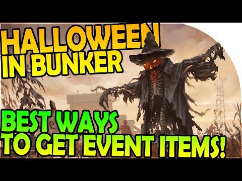 HALLOWEEN in THE BUNKER + BEST WAYS TO GET EVENT ITEMS - Last Day On Earth Survival 1.6.5 Update