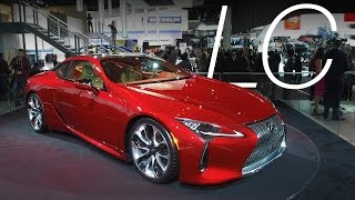 Lexus Goes Emotional with LC Coupe | Consumer Reports
