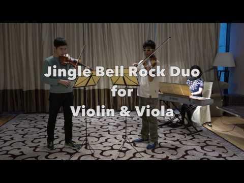 Jingle Bell Rock Duo for Violin & Viola