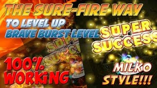 Brave Frontier : BB Level UP GUIDE Milko Style ^_^v