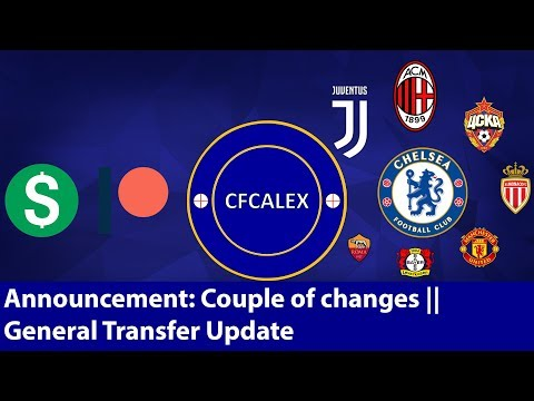 ANNOUNCEMENT: COUPLE OF CHANGES || GENERAL CHELSEA TRANSFER NEWS || Chelsea Transfer Special