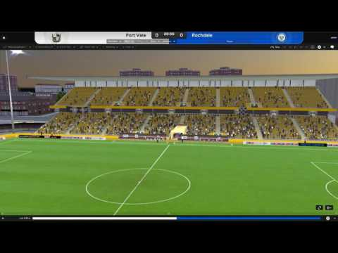Unemployed Football Manager Episode 1: Port vale to the rescue